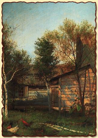 Левитан Исаак - Весна в деревне